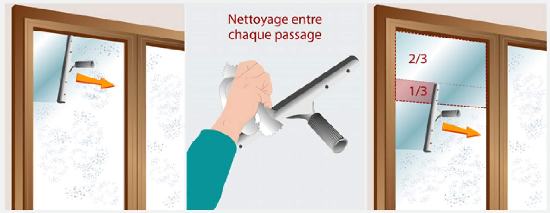 Qu 39 elles sont les deux techniques de nettoyage des vitres for Technique pour nettoyer les vitres